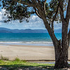 Deserted beaches on the Coromandel Peninsula