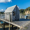 Coromandel town fishing harbour