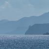 Bay of Islands coastline from a beach near Russell.