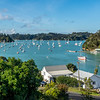 View from our B&B room in Russell, Bay of Islands.