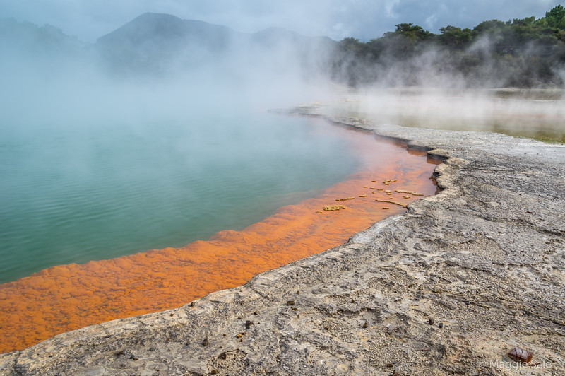 The famous Champagne Pool at Wai O Tapu