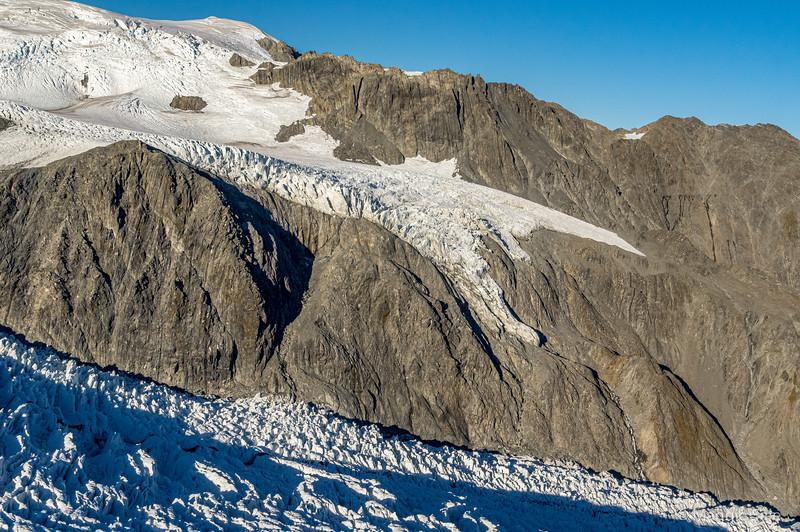 Down the Fox glacier