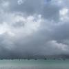 View from Akaroa beach