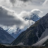 View of Mount Cook (NZ's highest) from our hotel