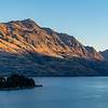 View across Lake Wakatipu from our accommodation in Queenstown on our arrival.