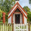 Maori chapel in a nearby village
