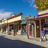 Arrowtown is a former gold mining town with many original buildings and charm - also very popular with tourists!