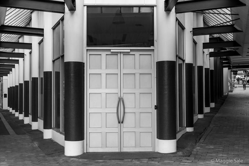 Art Deco office building in Dunedin