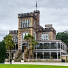 Larnach Castle (private residence originally) and gardens on the Otago Peninsula, now open to the public.
