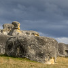 A short detour away from the valley took us to the Elephant Rocks - a bizarre group of sculptured limestone rocks in rolling country in the middle of agricultural land.