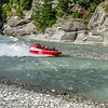 Nearby Shotover Gorge takes people on jet ski rides on the river.