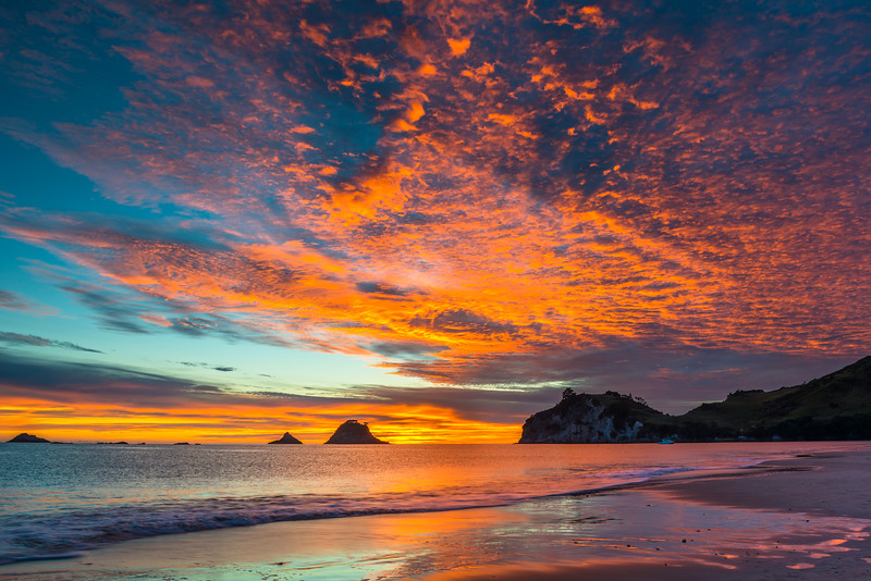 Dawn on Hahei