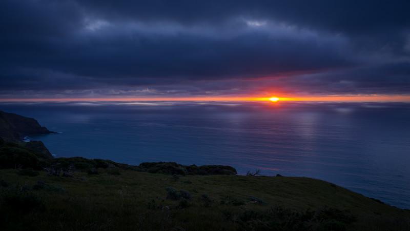 Te Toto Gorge Sunset