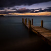 Sunset at Lake Taupo