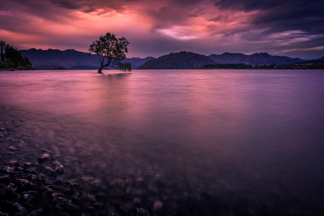 Lake Wanaka Sunset