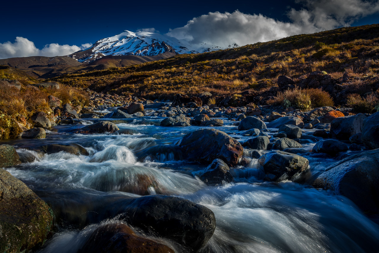Stream from Ruapehu Mountain