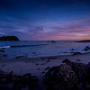 Last Light at Tauranga Beach
