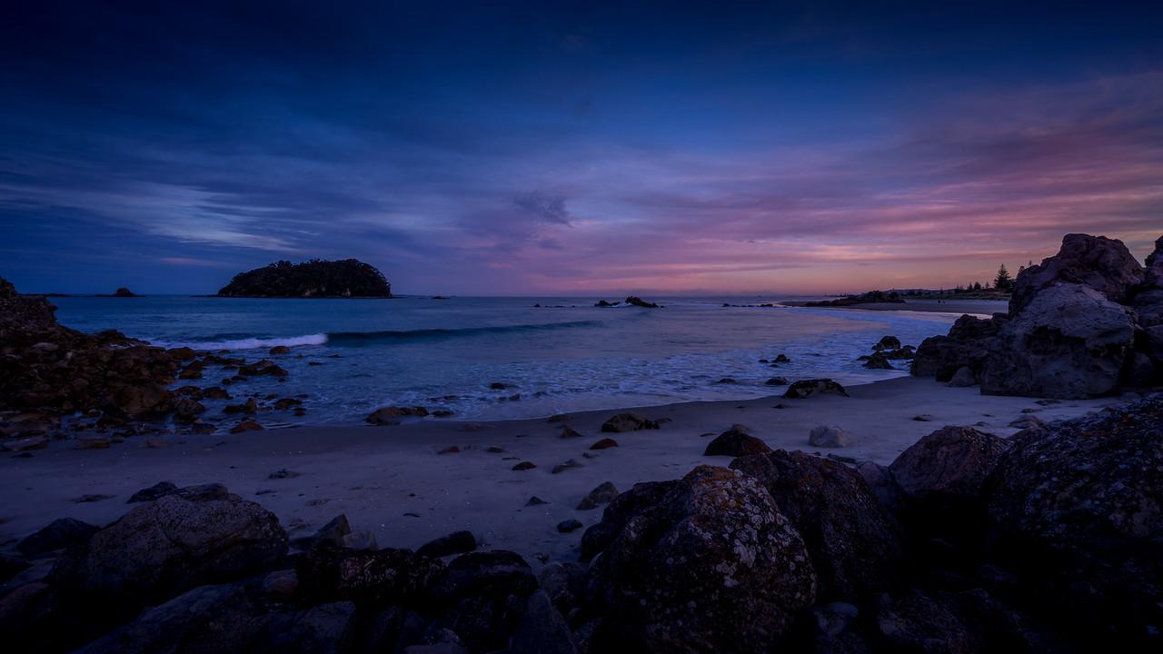 Last Light at Tauranga Beach