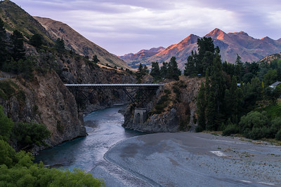 Ferry Bridge Sunrise | Hanmer Springs, NZ