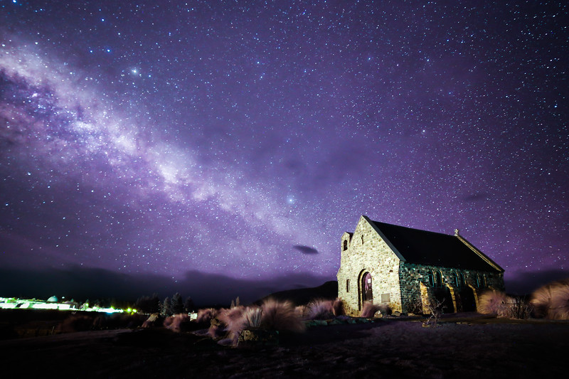 The Church of the good Shepherd at Lake Tekapo