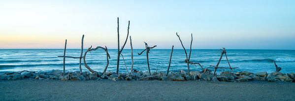 Sunset Sticks | Hokitika, New Zealand