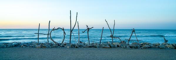 Sunset Sticks | Hokitika, New Zealand
