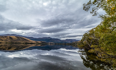 One of many lakes near Queenstown. Not a soul in sight.