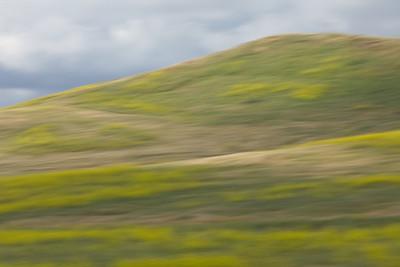 Hills, Irvine, motion blur