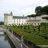 Villandry Castle in the Loire Valley, France<br /> © 2002 Colleen M. Griffith. All Rights Reserved.  This material may not be published, broadcast, modified, or redistributed without written agreement with the creator.  This image is registered with the US Copyright Office.