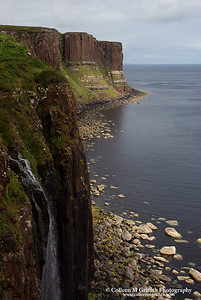 © 2005 Colleen M. Griffith. All Rights Reserved.  This material may not be published, broadcast, modified, or redistributed without written agreement with the creator.  This image is registered with the US Copyright Office.   www.colleenmgriffith.com www.facebook.com/colleen.griffith  Kilt Rock, Isle of Skye Scotland