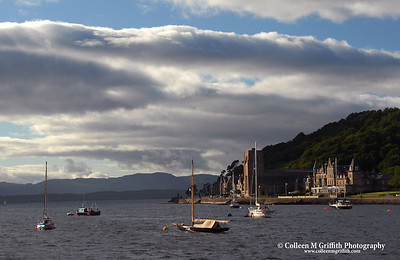 Oban Bay © 2005 Colleen M. Griffith. All Rights Reserved.  This material may not be published, broadcast, modified, or redistributed without written agreement with the creator.  This image is registered with the US Copyright Office.   www.colleenmgriffith.com www.facebook.com/colleen.griffith  Isle of Skye, Scotland