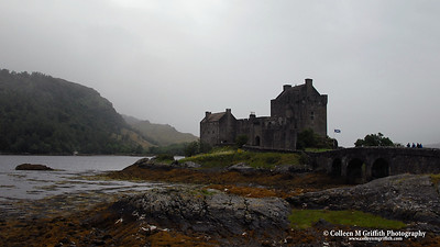 Eilean Donan Castle © 2005 Colleen M. Griffith. All Rights Reserved.  This material may not be published, broadcast, modified, or redistributed without written agreement with the creator.  This image is registered with the US Copyright Office.   www.colleenmgriffith.com www.facebook.com/colleen.griffith  Isle of Skye, Scotland