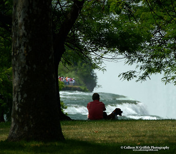 Enjoying Niagara Falls © 2006 Colleen M. Griffith. All Rights Reserved.  This material may not be published, broadcast, modified, or redistributed without written agreement with the creator.  This image is registered with the US Copyright Office. www.colleenmgriffith.com www.facebook.com/colleen.griffith