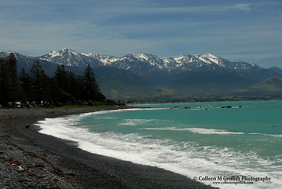 Kaikoura Bay, New Zealand © 2007 Colleen M. Griffith. All Rights Reserved.  This material may not be published, broadcast, modified, or redistributed in any way without written agreement with the creator.  This image is registered with the US Copyright Office. www.colleenmgriffith.com www.facebook.com/colleen.griffith