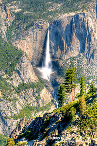 Upper Yosemite Falls, Yosemite National Park, California © 2009 Colleen M. Griffith. All Rights Reserved.  This material may not be published, broadcast, modified, or redistributed in any way without written agreement with the creator.  This image is registered with the US Copyright Office. Friend me on Facebook
