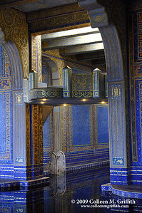 Hearst Castle Pool © 2009 Colleen M. Griffith. All Rights Reserved.  This material may not be published, broadcast, modified, or redistributed in any way without written agreement with the creator.  This image is registered with the US Copyright Office. www.colleenmgriffith.com www.facebook.com/colleen.griffith