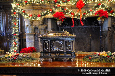 Christmas At Hearst Castle © 2009 Colleen M. Griffith. All Rights Reserved.  This material may not be published, broadcast, modified, or redistributed in any way without written agreement with the creator.  This image is registered with the US Copyright Office. www.colleenmgriffith.com www.facebook.com/colleen.griffith