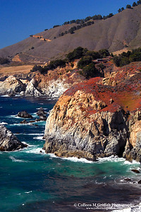 Pacific Coast near Big Sur, CA © 2009 Colleen M. Griffith. All Rights Reserved.  This material may not be published, broadcast, modified, or redistributed in any way without written agreement with the creator.  This image is registered with the US Copyright Office. Friend Colleen on Facebook