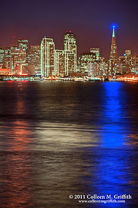 Purple Patriotic San Francisco ©  2011 Colleen M. Griffith. All Rights Reserved. This material may not be published, broadcast, modified, or redistributed  without written agreement with the creator.  This image is registered with the US Copyright Office. Friend me on Facebook