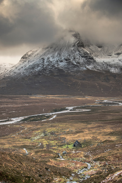 Shenevall Bothy - Sanctuary from the Storm