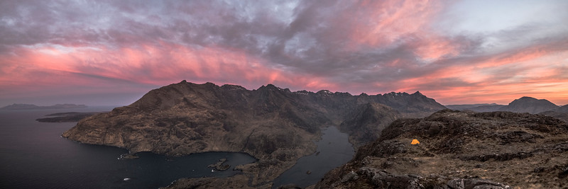 Cuillin Dawn (Panoramic)