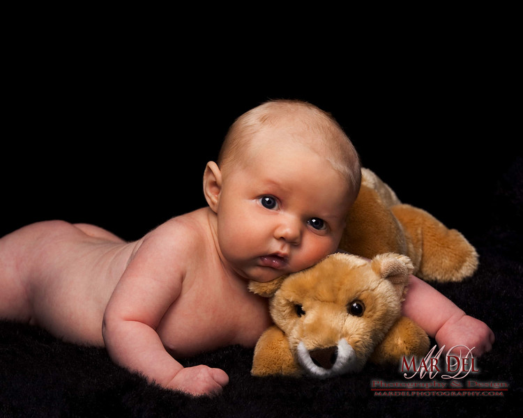 Baby with Cougar