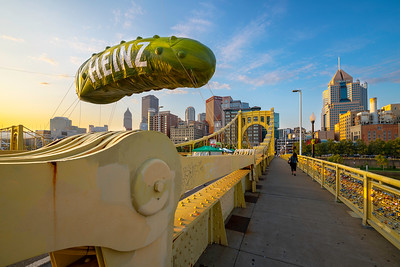 """Picklesburgh"" - Pittsburgh, North Shore   Recommended Print sizes*:  4x6  
