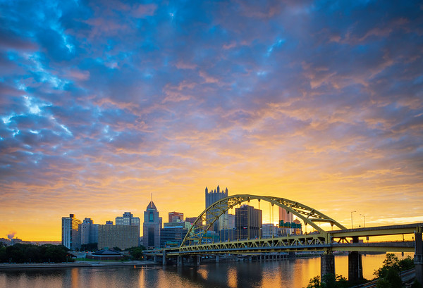 """""""Strong as Steel"""" - Pittsburgh, South Shore   Recommended Print sizes*:  4x6      8x12     12x18     16x24     20x30     24x36   30x45   40x60 *When ordering other sizes make sure to adjust the cropping at checkout*  © JP Diroll 2018"""