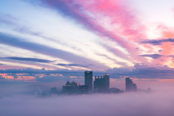 """Dreamscape"" - Pittsburgh, Mount Washington   Recommended Print sizes*:  4x6  