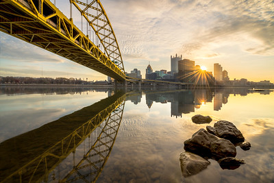 """Pittsburgh Rocks"" - Pittsburgh, South Shore   Recommended Print sizes*:  4x6  