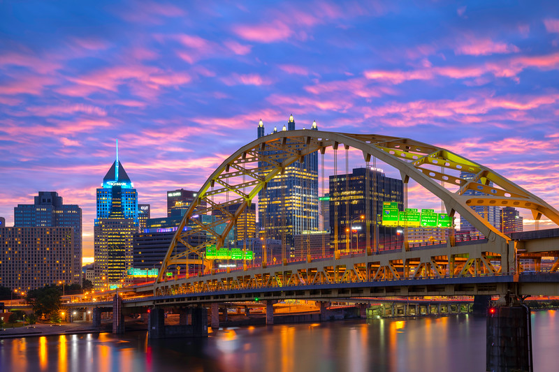 """""""Tunnel Vision"""" - Pittsburgh, South Shore   Recommended Print sizes*:  4x6  