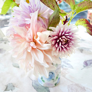 Three Dahlias Bouquet