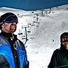 Skiing at Mt. Hutt.