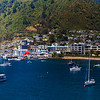 Picton...the harbor on the South Island.